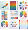 set 10 universal templates elements infographics vector image vector image