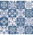 Set of vintage ornament mandala vector image vector image