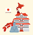 travel japan vector image vector image