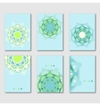 Set of abstract design templates brochures vector image
