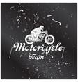 motorcycle team motocross bike background i vector image
