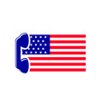 america mobile logo template vector image vector image