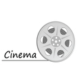 cinema icon vector image vector image