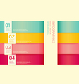 Modern soft color design template vector | Price: 1 Credit (USD $1)