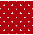 Poker red seamless pattern vector image vector image