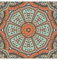 seamless pattern ornamental tile design vector image