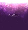 shiny christmas greeting vector image vector image