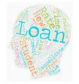 Student Loan Debt Strategies That Work text vector image vector image
