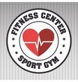 Cardio sport gym vector image