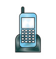 cellphone device isolated icon vector image vector image