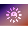 diwali style diya vector image vector image