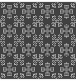 Dumbbell dark seamless pattern vector image vector image
