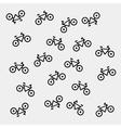 Geometric seamless simple monochrome minimalist vector image vector image