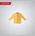 isolated shirt flat icon banyan element vector image vector image