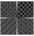seamless pattern set fz vector image