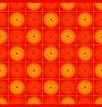 sun sentagle seamless pattern vector image