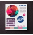 Business Project template design vector image