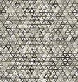 Abstract triangular seamless pattern vector image vector image