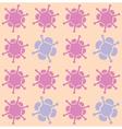 blooming flowers vector image vector image