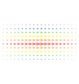 logout spectrum halftone array vector image vector image