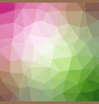 quad color polygonal background in candy pink and vector image