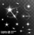 Star bokeh bright vector image vector image