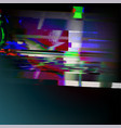 stock glitch style computer vector image vector image