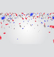 usa independence day poster with balloons flag vector image vector image