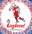 England 3 vector image