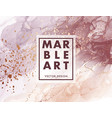 alcohol ink marble gradient neutral design vector image vector image