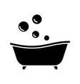 Babathtub glyph icon