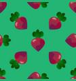 beet seamless pattern vector image vector image