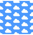cloud data storage seamless pattern with icons vector image vector image