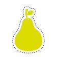 fresh fruit isolated icon vector image