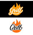 grill set vector image