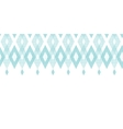Pastel blue fabric ikat diamond horizontal vector image vector image