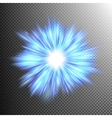 Star burst with sparkles EPS 10 vector image vector image