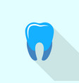 blue tooth logo icon flat style vector image vector image