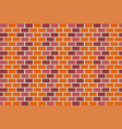 colorful brick wall beautiful texture background vector image