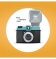 Film camera icon concept vector image vector image