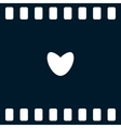 Icon of love heart vector image vector image