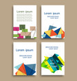 modern brochure cover template with color vector image vector image