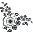 ornament in black 10 vector image vector image