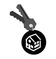 Real estate house keys