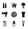 remodel icons set simple style vector image vector image