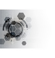 technological communication digital modern vector image vector image
