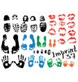 imprint vector image