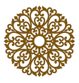 filigree ornament seamless lace pattern vector image vector image