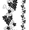 grapevine design elements vector image