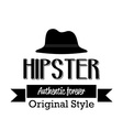 Hipster icon vector image vector image